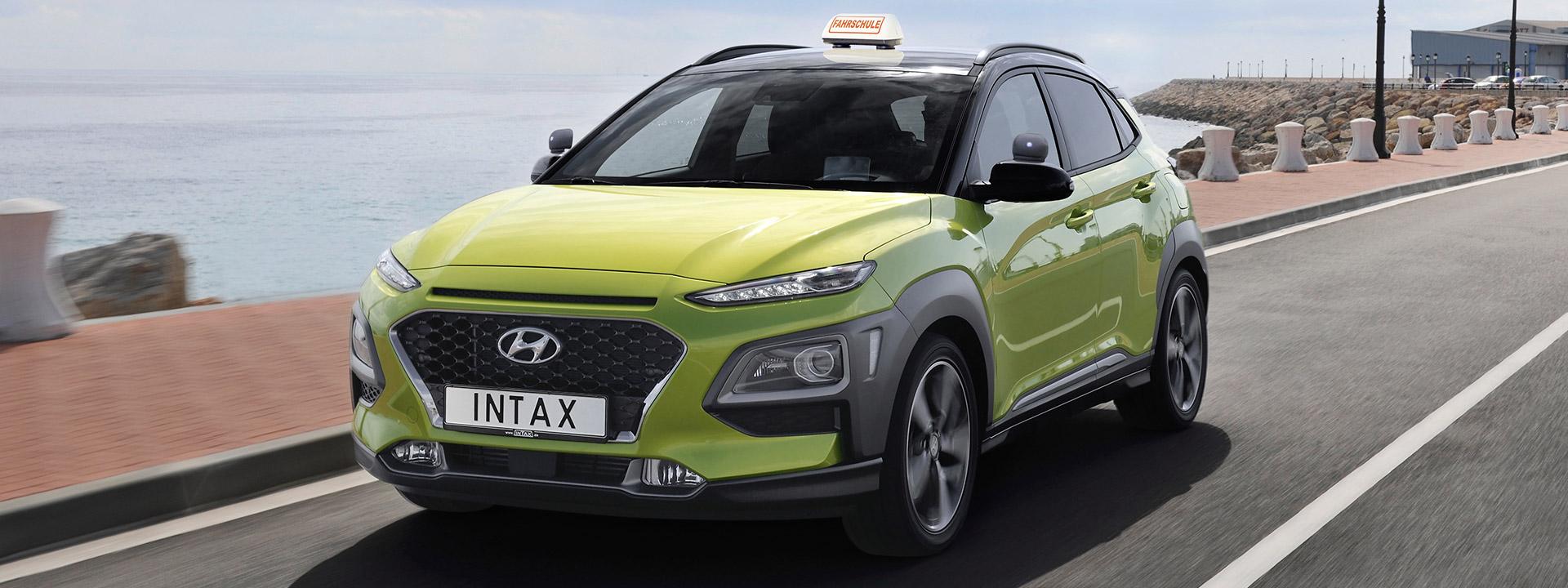 Hyundai Kona als Fahrschulauto