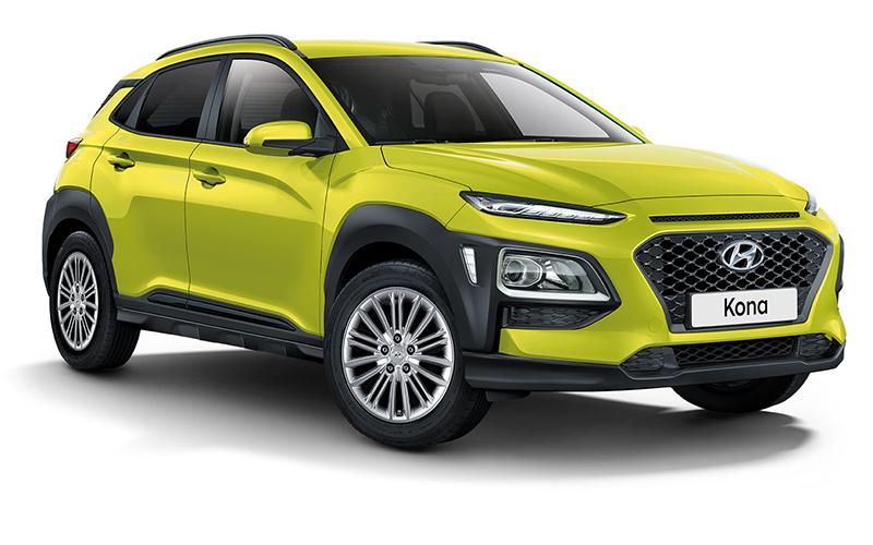 Der Hyundai Kona als Yes! Sondermodell. Copyright Hyundai