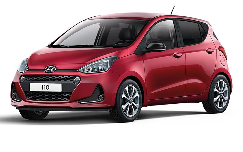 Der Hyundai i10 als Yes! Sondermodell. Copyright Hyundai