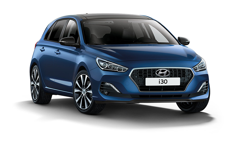 Der Hyundai i30 als Yes! Sondermodell. Copyright Hyundai